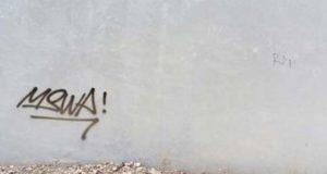 Warga Beji Resah, Coretan Grafiti Kode Kejahatan?