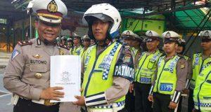 Buah Manis Dikeroyok Pelajar, Polantas Depok Dianugerahi Penghargaan