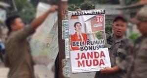 Viral 'Hadiah Janda Muda' Diturunkan Satpol PP Kota Depok