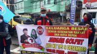 DKR Kota Depok Bikin Aksi, Ajak Masyarakat Jangan Golput dan Pilih Pradi Afifah
