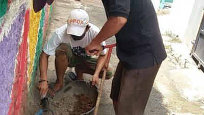 Warga Kali Baru Cilodong Menargetkan 2.000 Titik Biopori