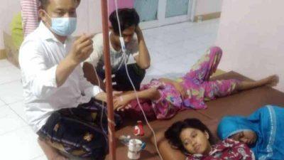 Santap Makanan Buka Puasa, Puluhan Santri di Kabupaten Bekasi Keracunan