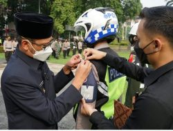 Ratusan Personil Gabungan Siap Amankan Lebaran di Depok