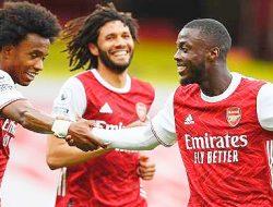 Arsenal Menang 3-1, West Bromwich Albion Dipastikan Terdegradasi