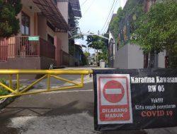 Pemukiman Warga di Kota Depok Mulai Lockdown