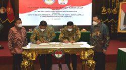 Penandatangan perjanjian itu disaksikan langsung oleh Wakil Menteri Pertahanan (Wamenhan) M Herindra pada Jumat (25/6/2021).