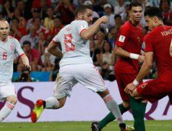 Pemanasan EURO 2020, Spanyol vs Portugal Tanpa Gol