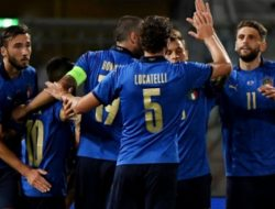 Pemanasan Jelang Euro 2020 : Italia Hajar Republik Ceko
