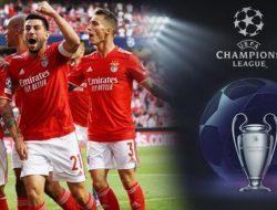 Inilah Hasil Liga Champions Semalam: Benfica Tekuk PSV